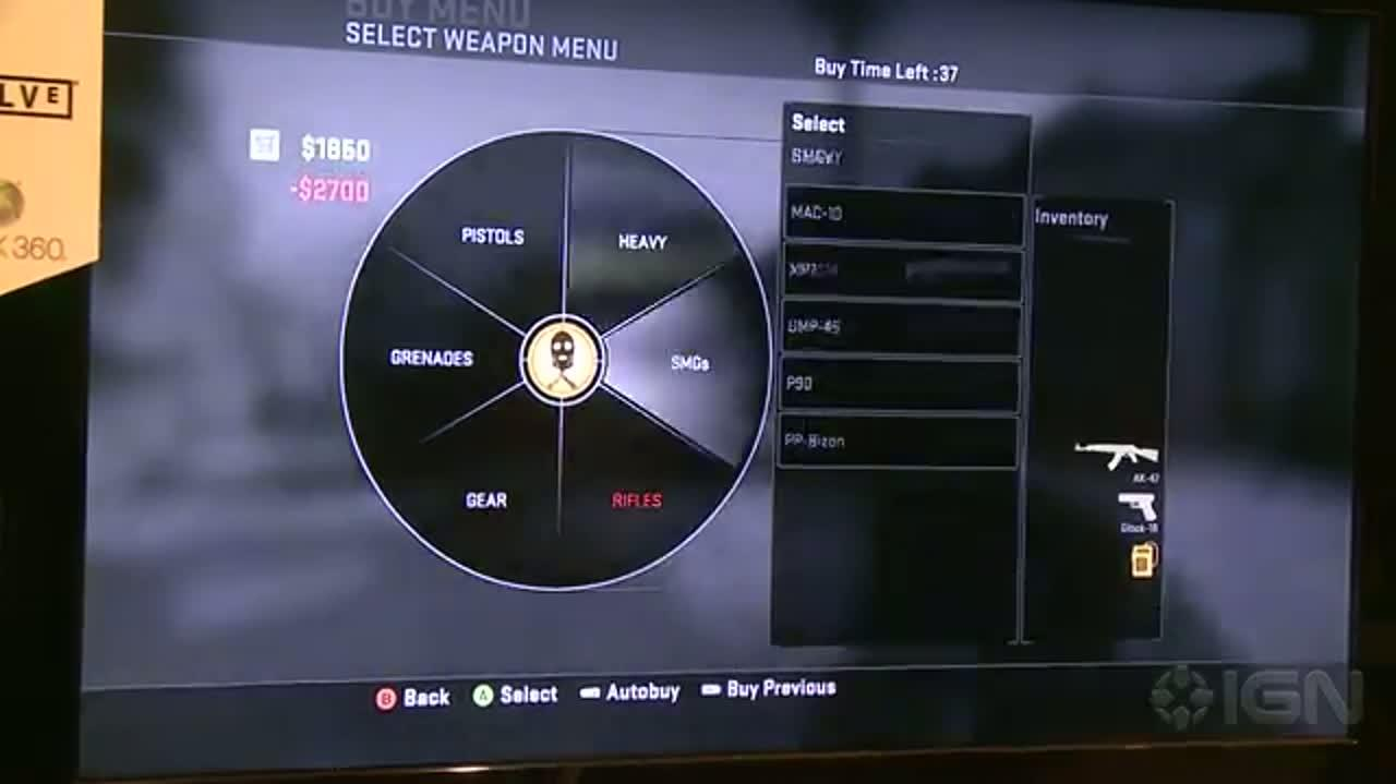 Counter-Strike Global Offensive - Gameplay (Off Screen) - E3 2012