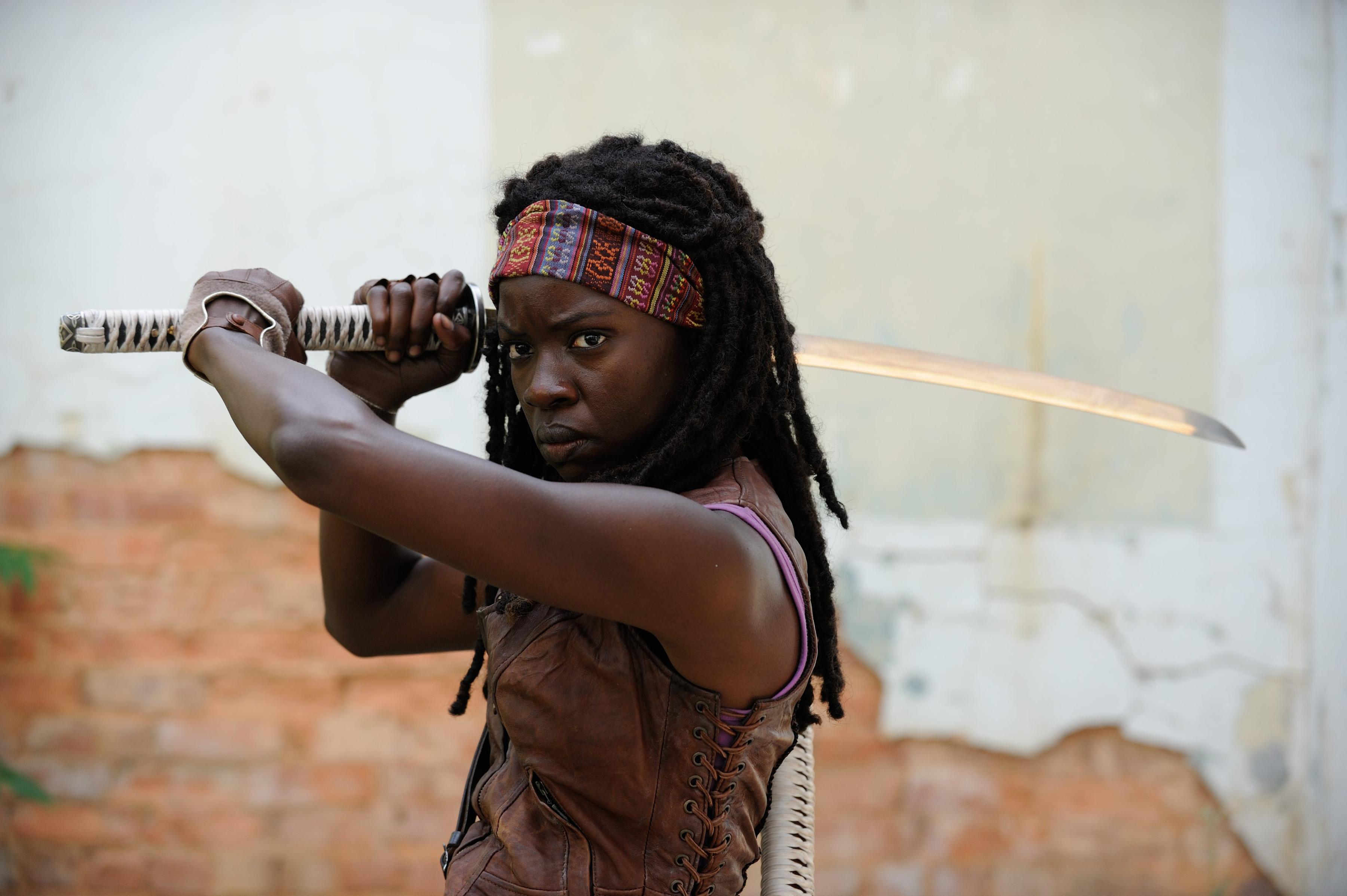 The Walking Dead Michonne Schauspieler