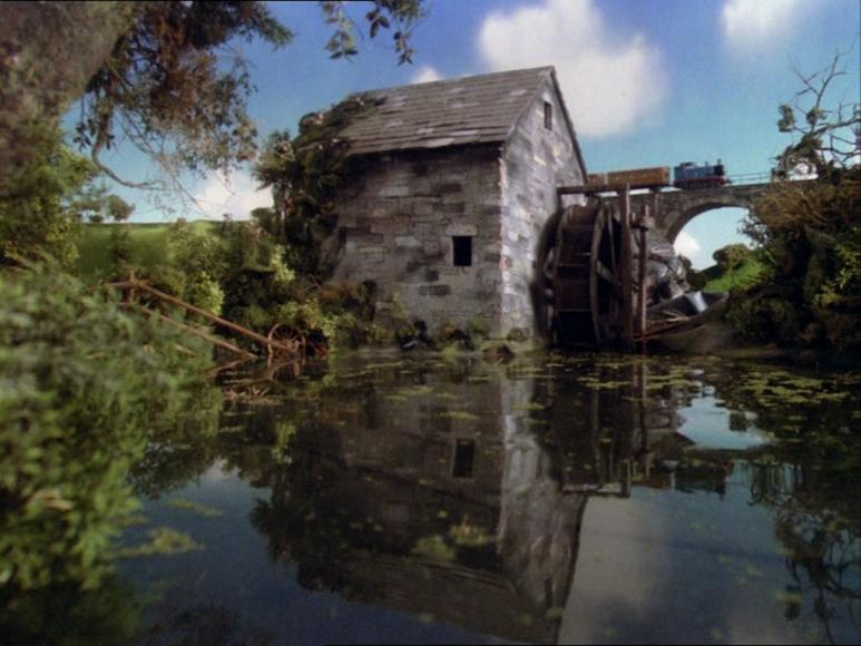 TV版第2シーズンの水車