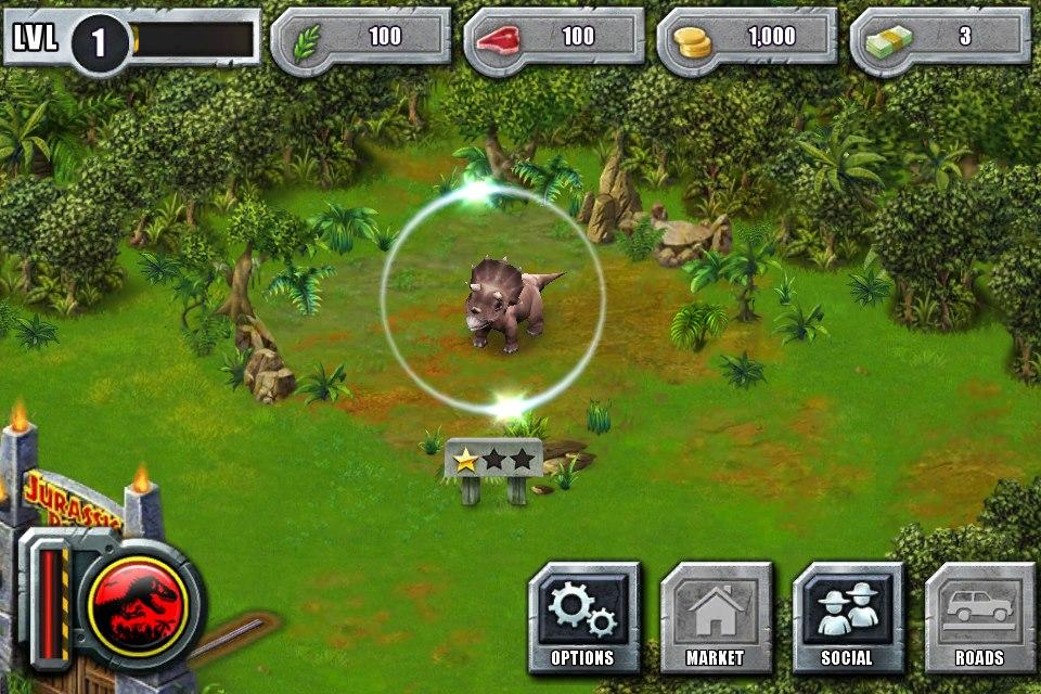 Jurassic Park Builder Pterodactylus JPB Trike2