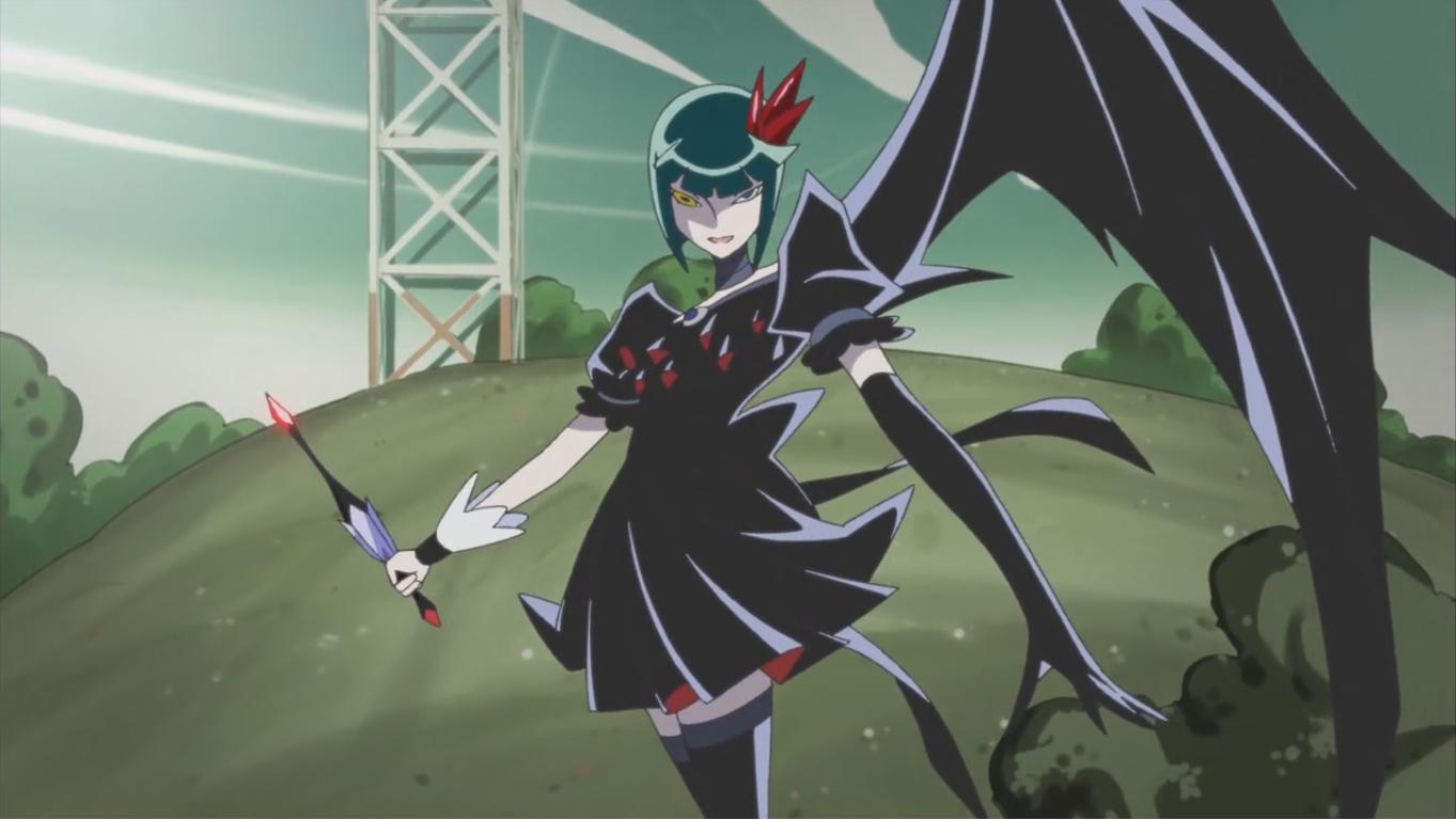 dark anime villains: Heartcatch Pretty Cure!