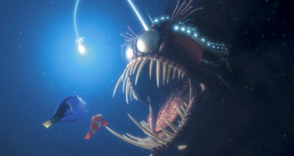 Angler Fish and how does the text work with Ideas by Jivey.