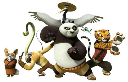 Kung Fu Panda: La leye... Kung Fu Panda Po And Shifu