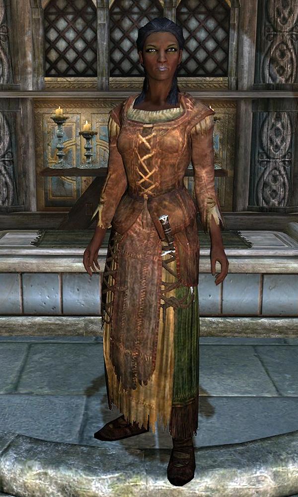 Skyrim Redguard Woman