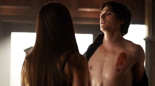 The-vampire-diaries-season4-episode3-the-rager-damon-and-elena  Vampire Diaries Elena And Damon Season 4