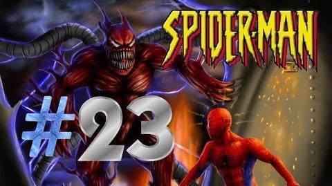 Spider-Man (2000) PS1 Walkthrough Part 23 Spidey vs. Monster Ock