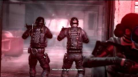 Operation Raccoon City cutscenes