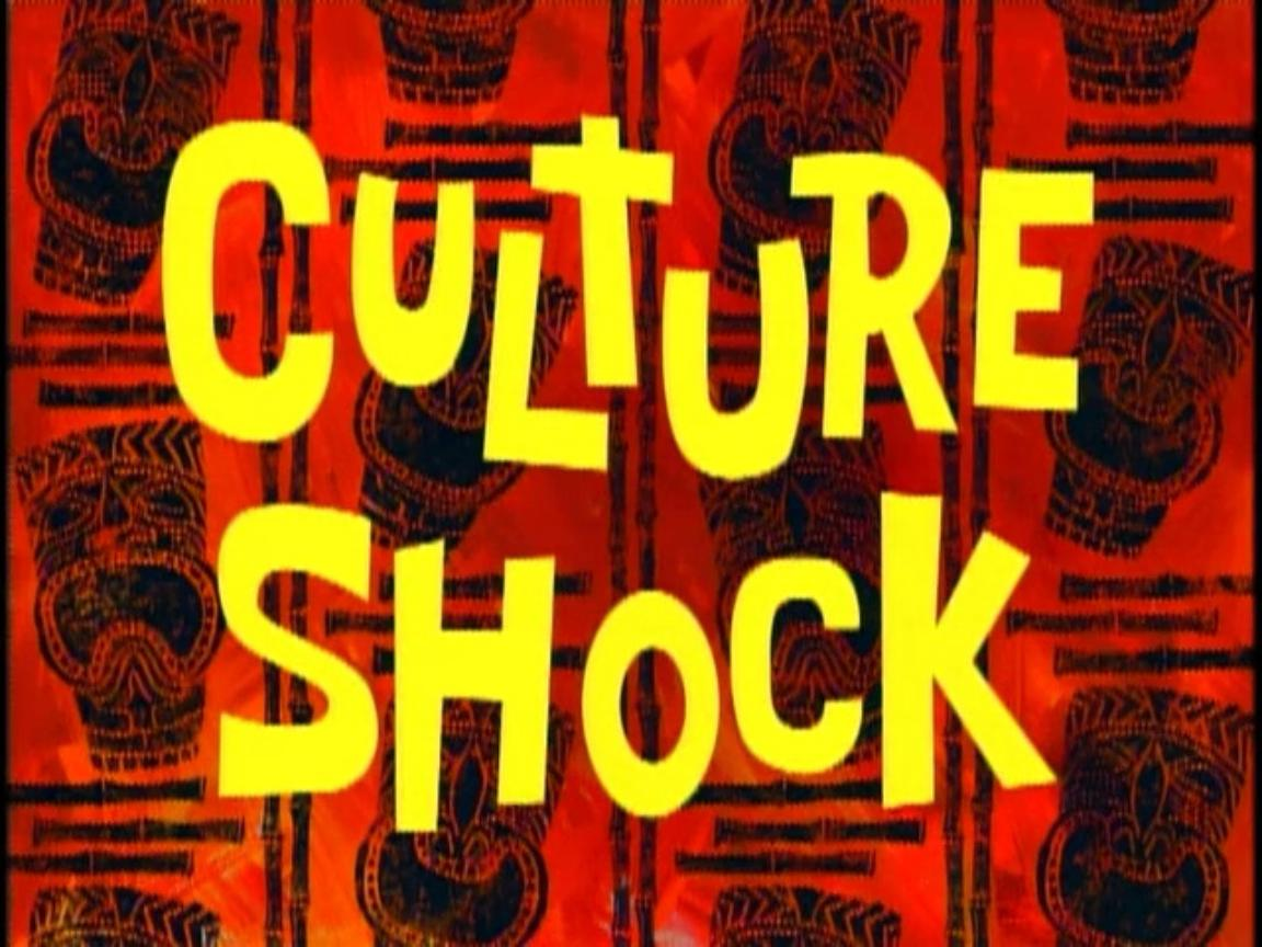 Culture Shock  Encyclopedia SpongeBobia  The SpongeBob SquarePants