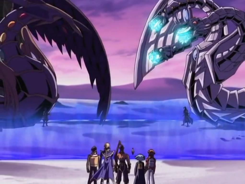 Yu-Gi-Oh  GX - Episode 148 Dark Cyber End Dragon