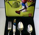 2036211P Food - Cutlery Set, BSF Kinderbesteck mit Klara Kuh