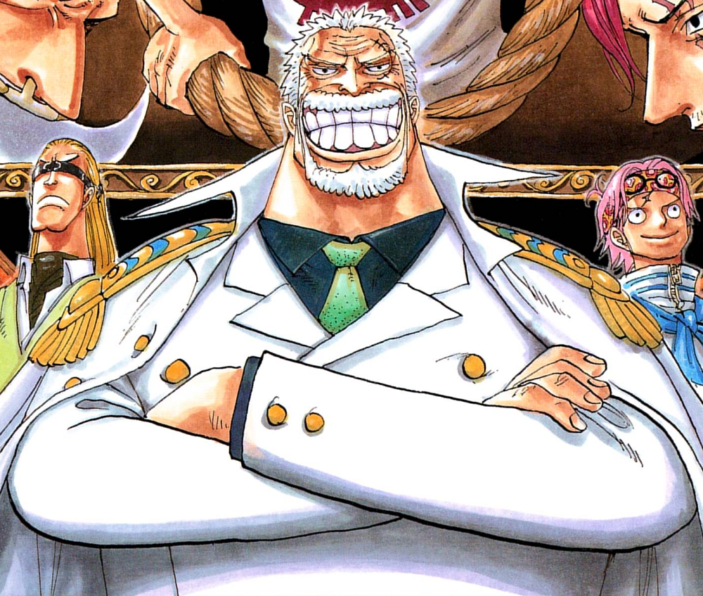 Image - Monkey D. Garp Manga Infobox.png - The One Piece ...