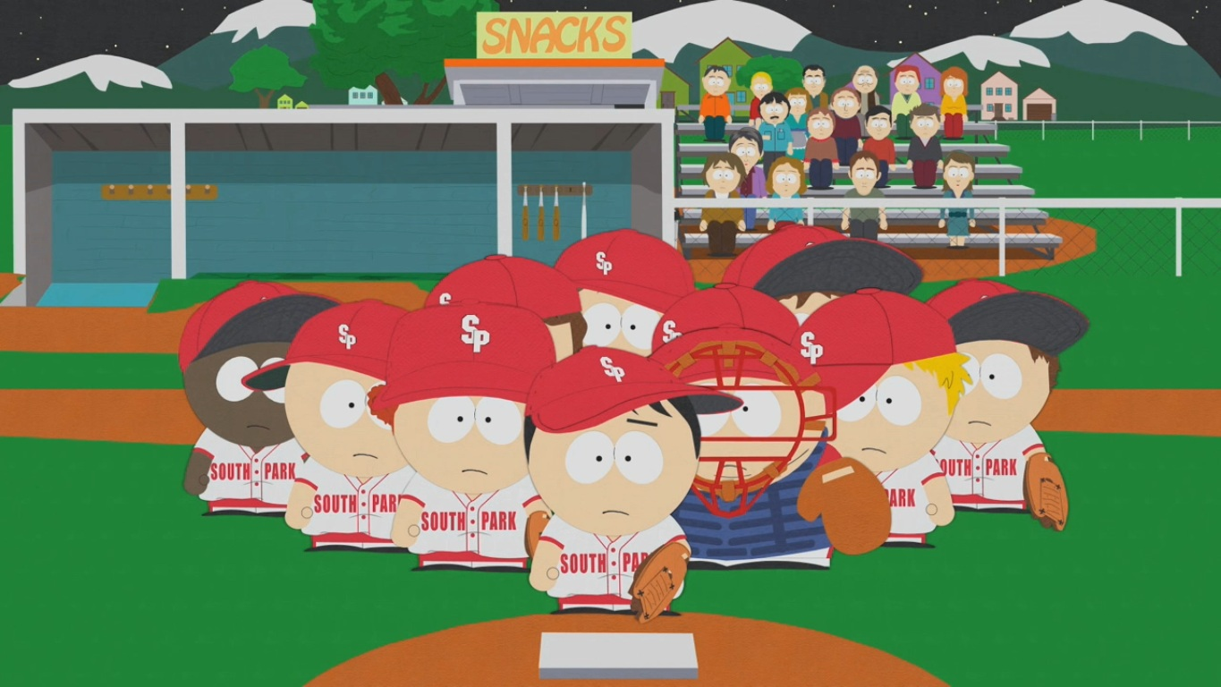 The Losing Edge South Park Archives Cartman Stan Kenny Kyle