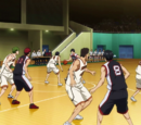 Seirin High vs Shūtoku High (Interhigh)