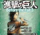 Attack on Titan: Before the Fall 3 (Novel)
