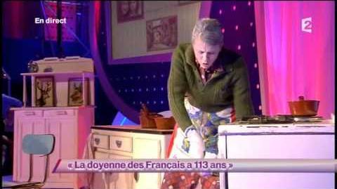La doyenne des Français a 113 ans