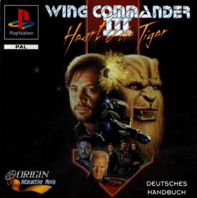 Wing Commander III Heart of the Tiger Portada