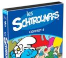 Les Schtroumpfs Coffret 4 (Region 1 DVD)