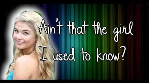 Stefanie Scott - Girl I Used to Know - Lyrics HD