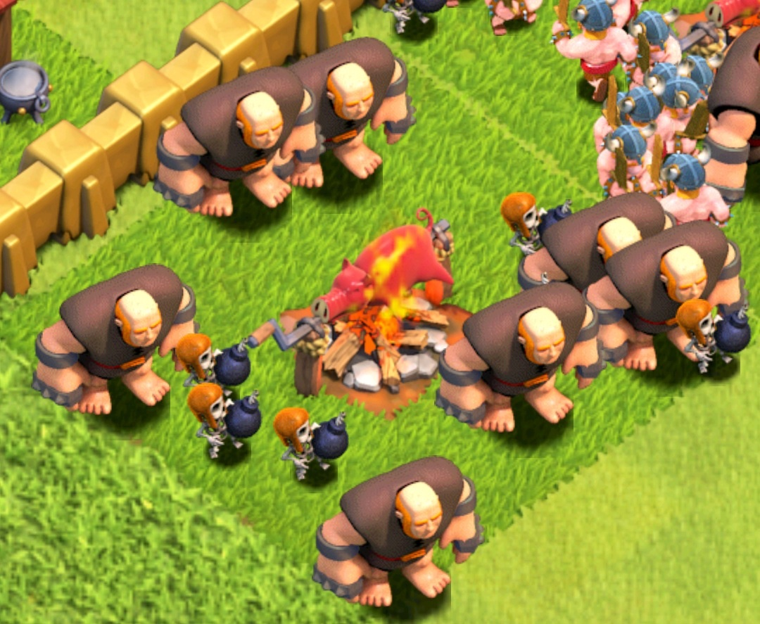 they NEED a ... Clash Of Clans Level 4 Giants