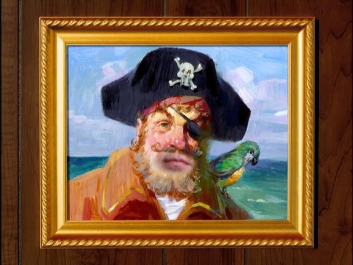 Painty the Pirate - Encyclopedia SpongeBobia - The SpongeBob SquarePants Wiki