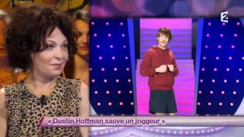 Dustin Hoffman sauve un joggeur