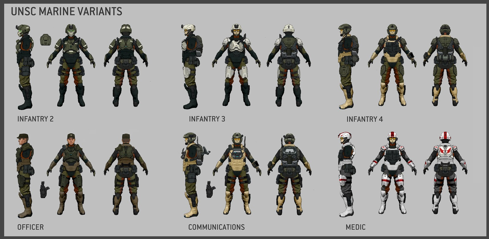Unsc Marines Halo 4 Halo 4 Marine Compulation
