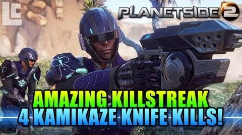 26 Killstreak (4 knife kills) Vanu Heavy Assault (Planetside 2 Gameplay Commentary)