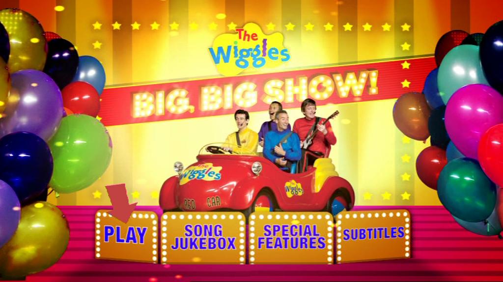 The Wiggles' Big Big Show! (DVD Menu)