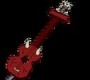Guitarra Corazón de Demonio
