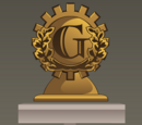 3010 GEARS Games Bronze Trophy