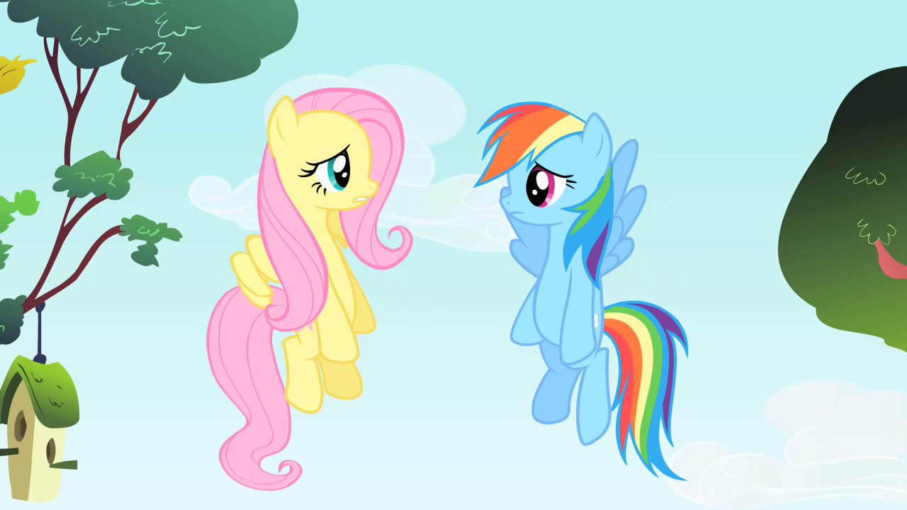 Image - Rainbow Dash and Fluttershy are speechless S1E25 ...
