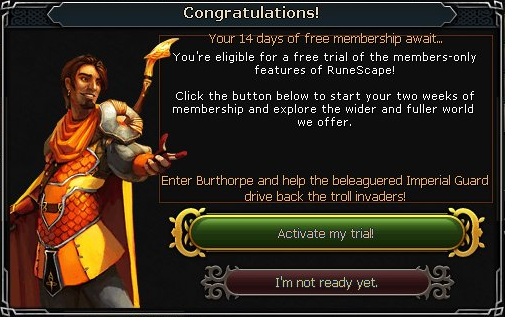free trail membership online dating