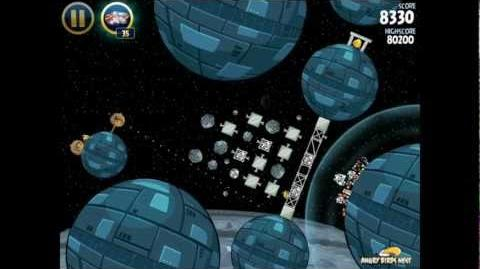 Angry Birds Star Wars 2-33 Death Star 3-Star Walkthrough