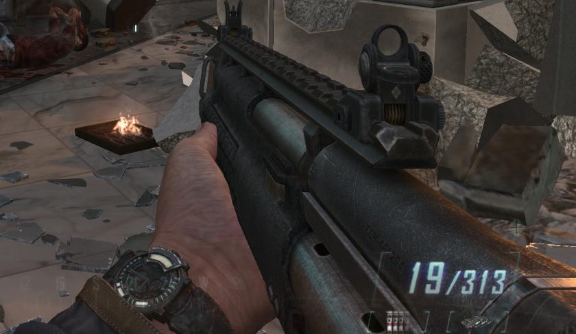 Ksg Black Ops 2 Duty wiki - black ops ii, M1216 Gold