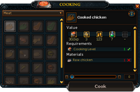 Make-X Cooking