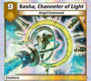 Sasha, Channeler of Light