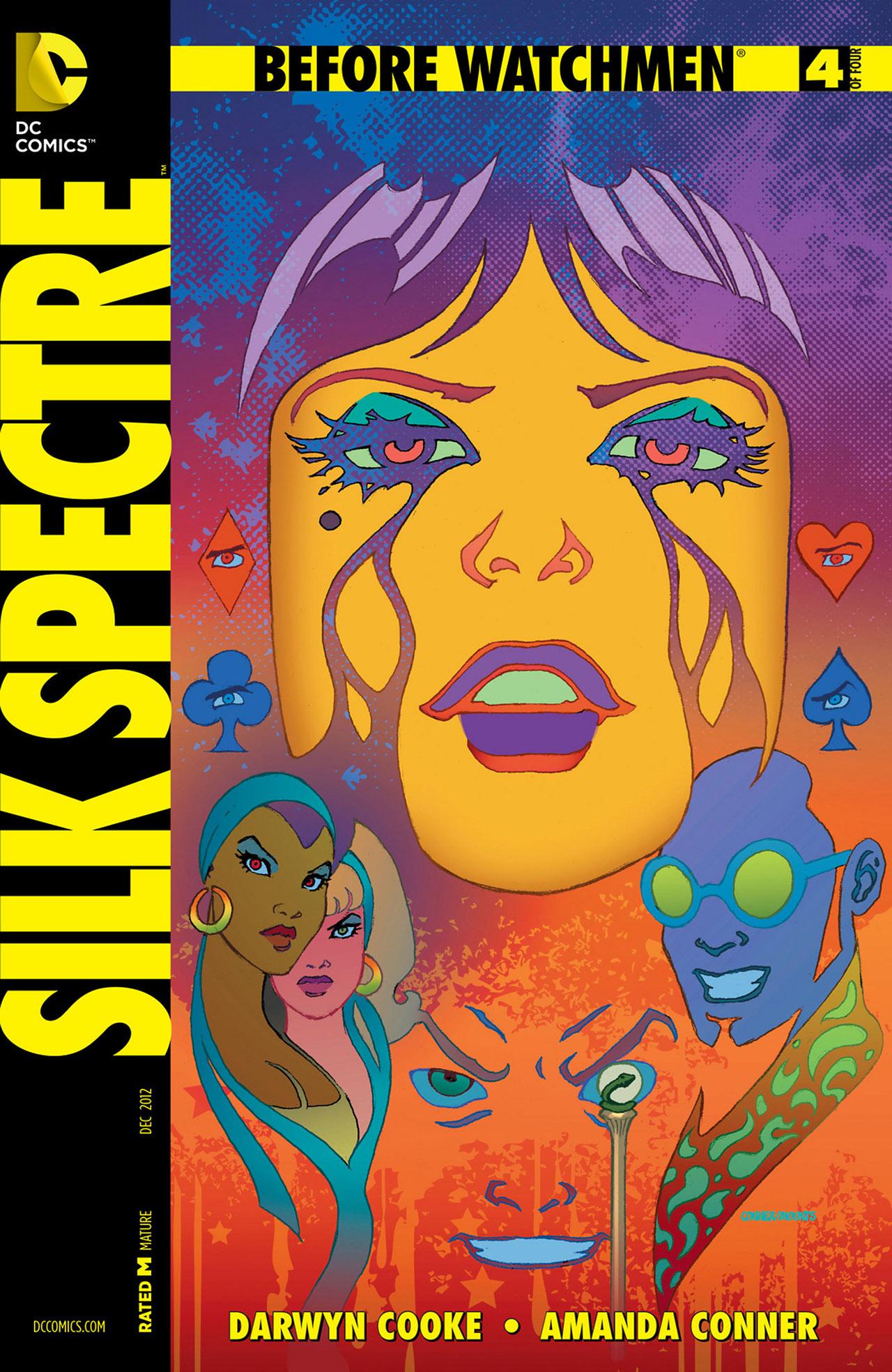 Before Watchmen: Silk Spectre Vol 1 4 - DC Comics Database