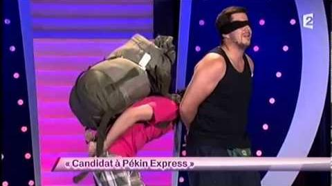 Candidat à Pékin Express