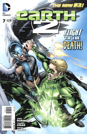 Cover for Earth 2 #7 (2013)
