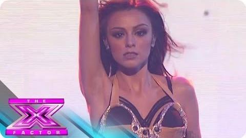 "Cher Lloyd & Becky G. Perform ""Oath"" - THE X FACTOR USA 2012"