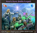 Aesa's Rune (Battle-Forged)