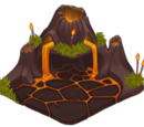 Large Volcano Home