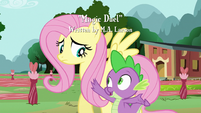 Spike talks to Fluttershy S3E05