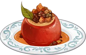 Recipe-Spiced Stuffed Apples