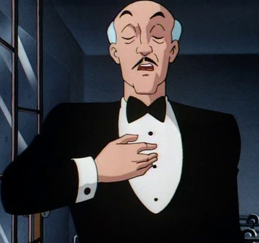 Alfred Pennyworth Batman The Animated Series Wiki