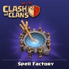clash of clans spell factory - photo #17