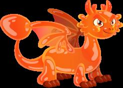 dragon gelatina jelly dragon