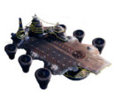 Helicarrier with Christmas Theme.png
