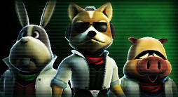 James And Fox Mccloud Peppy Hare - Arwingped...