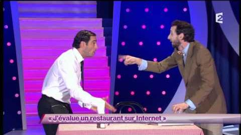 J'évalue un restaurant sur Internet